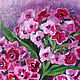 Bright Phlox oil painting, the bright blossoms of Phlox. Pictures. positive picture Helena Gold. My Livemaster.Фото №6
