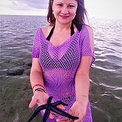 Туники ручной работы. Ярмарка Мастеров - ручная работа Женская туника для пляжа. Handmade.