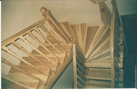 Элементы интерьера ручной работы. Ярмарка Мастеров - ручная работа. Купить Деревянные лестницы любой сложности. Handmade. Лестницы на заказ