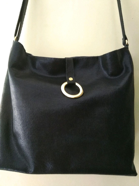 2b0a17f7d466 Женские сумки ручной работы. Ярмарка Мастеров - ручная работа. Купить  Кожаная сумка темно- ...