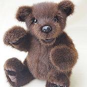Куклы и игрушки handmade. Livemaster - original item Bear Hank.Toy fur. Handmade.