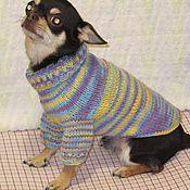 Для домашних животных, ручной работы. Ярмарка Мастеров - ручная работа Свитера для собак и кошек. Handmade.