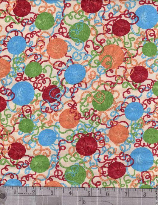 Шитье ручной работы. Ярмарка Мастеров - ручная работа. Купить 1181 Американская ткань. Handmade. Комбинированный, ткань с рисунком, ткань