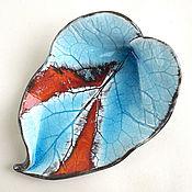 Для дома и интерьера handmade. Livemaster - original item Ceramic sheet in the