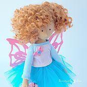 Куклы и игрушки ручной работы. Ярмарка Мастеров - ручная работа Butterfly. Текстильная кукла. Handmade.