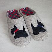 """Обувь ручной работы. Ярмарка Мастеров - ручная работа Тапочки-шлепанцы """"Скотч"""". Handmade."""