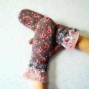Аксессуары handmade. Livemaster - original item mittens