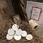 Подарки к праздникам ручной работы. Ярмарка Мастеров - ручная работа Набор елочных игрушек N 25. Handmade.