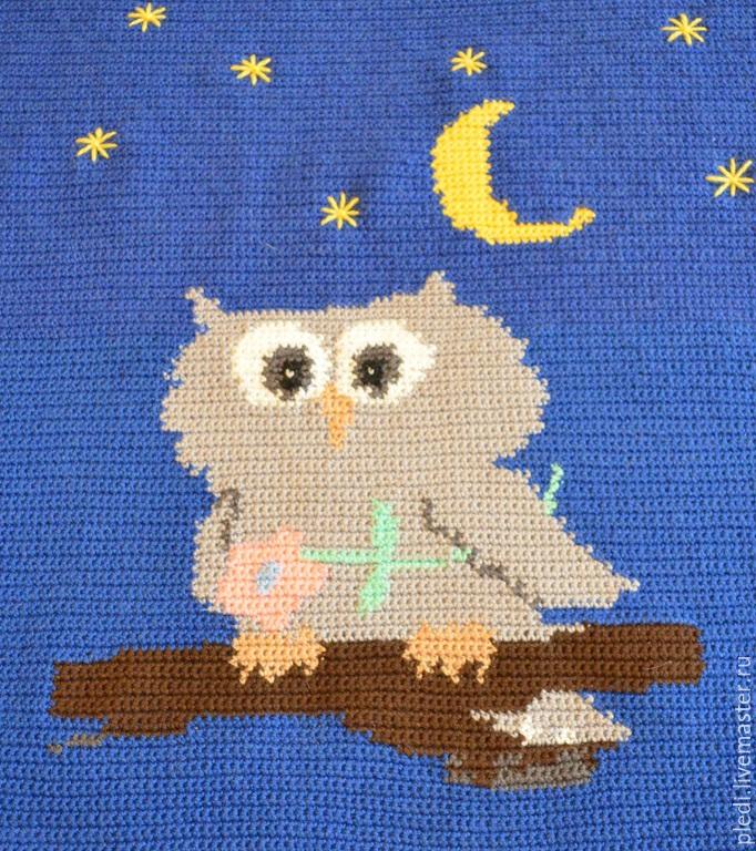 kids plaid 'owl', Blankets, Moscow,  Фото №1