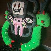 Мягкие игрушки ручной работы. Ярмарка Мастеров - ручная работа Игрушка Флауи - Undertale Вики - персонаж компьютерной игры Undertale. Handmade.