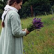 Одежда ручной работы. Ярмарка Мастеров - ручная работа Женское вседневное платье традиционного кроя. Handmade.