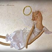 """Куклы и игрушки ручной работы. Ярмарка Мастеров - ручная работа """"Ангел любви и нежности"""" - авторская кофейная куколка. Handmade."""