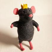 Куклы и игрушки ручной работы. Ярмарка Мастеров - ручная работа Мышиный принц. Handmade.