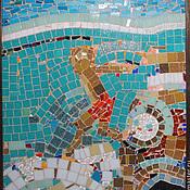 Картины и панно handmade. Livemaster - original item Mosaic. Jump. Handmade.