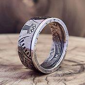 Украшения handmade. Livemaster - original item Ring from the 1 ruble coin of 1978 -