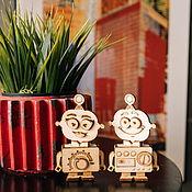 Куклы и игрушки handmade. Livemaster - original item Designer robot Molly. Handmade.