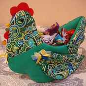 Подарки к праздникам ручной работы. Ярмарка Мастеров - ручная работа Курочка-вазочка. Handmade.