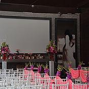 Свадебный салон ручной работы. Ярмарка Мастеров - ручная работа Оформление свадьбы_фуксия. Handmade.