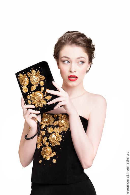 Корсеты ручной работы. Ярмарка Мастеров - ручная работа. Купить SALE Корсет с вышивкой золотые розы. Handmade. Корсет, бисер