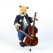 Stuffed Toys handmade. Livemaster - original item Bear George. Handmade.