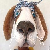 """Куклы и игрушки ручной работы. Ярмарка Мастеров - ручная работа Собака """"Фрося"""". Handmade."""