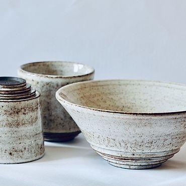 Посуда ручной работы. Ярмарка Мастеров - ручная работа Тарелка Сахар. Handmade.