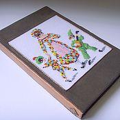 """Канцелярские товары ручной работы. Ярмарка Мастеров - ручная работа """"Комедианты"""" обложка для электронной книги. Handmade."""