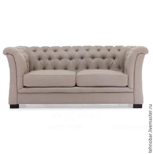 Мебель ручной работы. Ярмарка Мастеров - ручная работа. Купить Мягкий диван из дерева ручной работы на заказ. Handmade. Коралловый