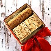 Для дома и интерьера ручной работы. Ярмарка Мастеров - ручная работа Подарок на новый год набор посуды для печати пряников и печенья. Handmade.