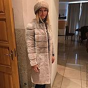 Одежда ручной работы. Ярмарка Мастеров - ручная работа Пальто из меха норки. Handmade.
