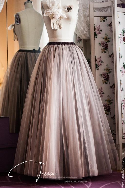 Необычные фатиновые воздушные юбки