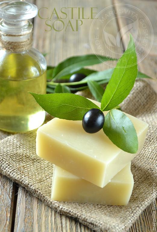 Кастильское мыло, Оливковое мыло