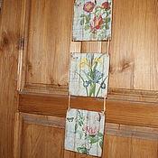 Картины и панно ручной работы. Ярмарка Мастеров - ручная работа Панно-триптих,,Весна на Заречной улице,,-продано. Handmade.