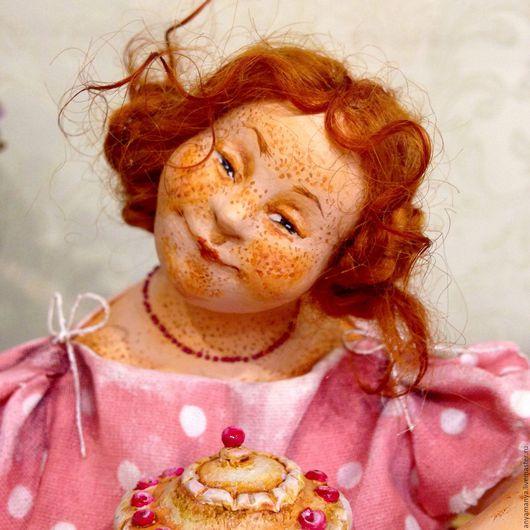 Коллекционные куклы ручной работы. Ярмарка Мастеров - ручная работа. Купить Сластена. Handmade. Комбинированный, подарок на любой случай