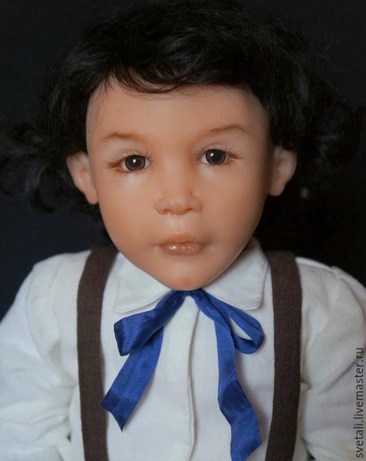 Коллекционные куклы ручной работы. Ярмарка Мастеров - ручная работа. Купить ДАВИД 55СМ. Handmade. Разноцветный, куклы-дети, текстиль