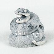 Материалы для творчества ручной работы. Ярмарка Мастеров - ручная работа Силиконовая форма для мыла Гремучая змея. Handmade.