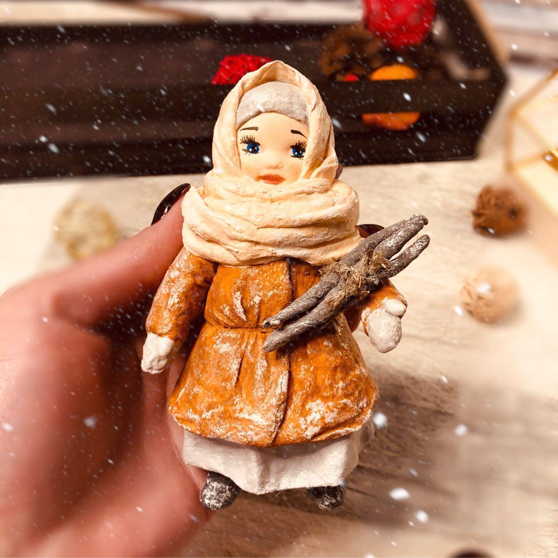 Ватная игрушка на елку, Куклы и пупсы, Москва,  Фото №1