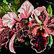"""Картины цветов ручной работы. Картина вышитая бисером """"Орхидеи"""". Юлия Будякова (YuliyaBudyakova). Интернет-магазин Ярмарка Мастеров."""