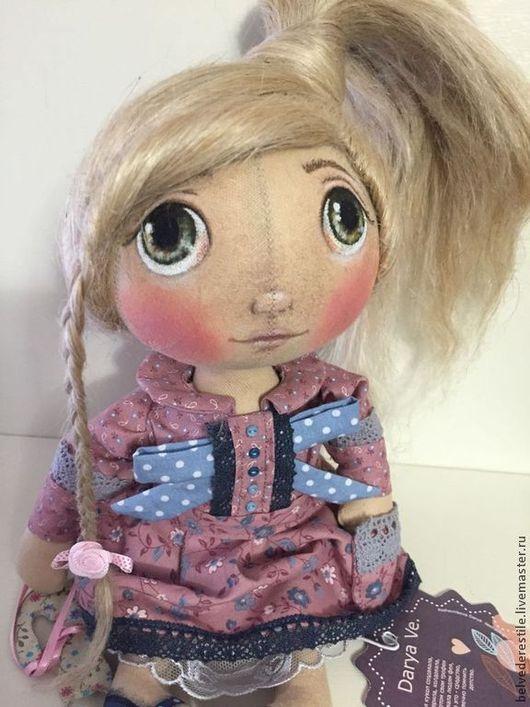 Куклы тыквоголовки ручной работы. Ярмарка Мастеров - ручная работа. Купить Кукла тыквоголовка Зоя. Handmade. Бежевый, кукла тыквоголовка
