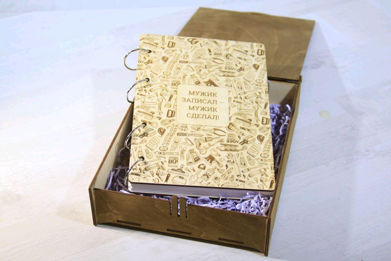 Блокнот/ежедневник из дерева, Блокноты, Иркутск,  Фото №1