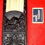 Винтаж ручной работы. Ярмарка Мастеров - ручная работа Антикварная каминная настенная спичечница чугун литьё Германия. Handmade.