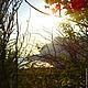 Фотокартины ручной работы. Ярмарка Мастеров - ручная работа. Купить Закат.Закат над морем.Лучи солнца.Горы.Лето.Фотокартина для интерьера.. Handmade.