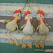 Куклы и игрушки ручной работы. Ярмарка Мастеров - ручная работа Петушок. Текстильная игрушка. Handmade.