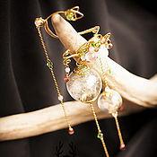 """Украшения ручной работы. Ярмарка Мастеров - ручная работа Кафф из серии """"Summer Wind"""". Handmade."""