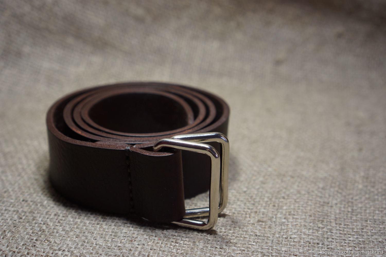 Как завязать мужской ремень с двумя кольцами женские часы на кожаном ремне