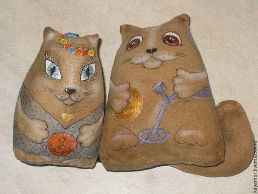 коты-кладоискатели