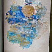 Картины ручной работы. Ярмарка Мастеров - ручная работа Картины: Зимнее солнце. Handmade.