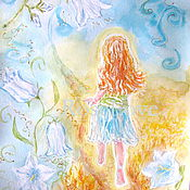 Pictures handmade. Livemaster - original item Painting for a child`s