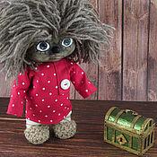Куклы и игрушки handmade. Livemaster - original item Domovenok Kuzka with the box. Handmade.