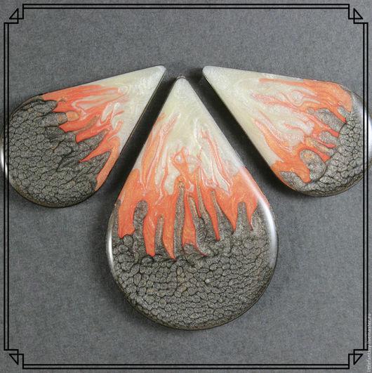 Для украшений ручной работы. Ярмарка Мастеров - ручная работа. Купить Лот 15  Комплект кабошонов ручной работы. Handmade.